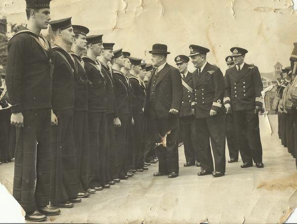 Men, HMS Neptune, 1940s