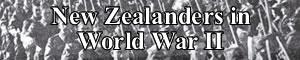 New Zealanders in World War II header