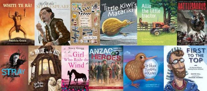 New Zealand Children & Young Adult Book Award Winners