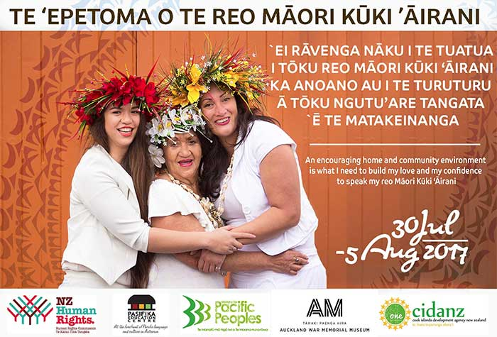 Cook Islands Language Week poster