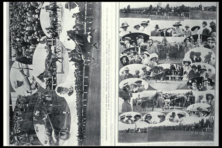 International trotting match at New Brighton [13 Dec. 1913], CCL PhotoCD 15, IMG0054