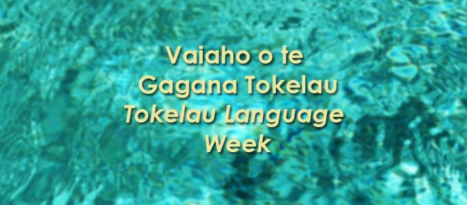Tokelau Language Week