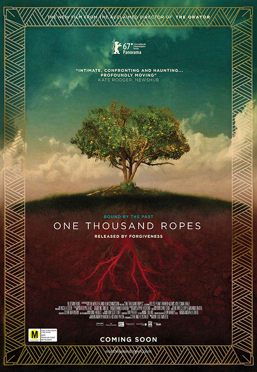 One thousand ropes poster - image supplied