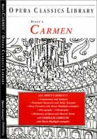 Cover of Bizet's Carmen