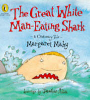Cover of The great white man-eating shark