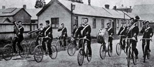 The bicycle band, 1898