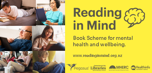 Reading in Mind Book Scheme for mental health and wellbeing