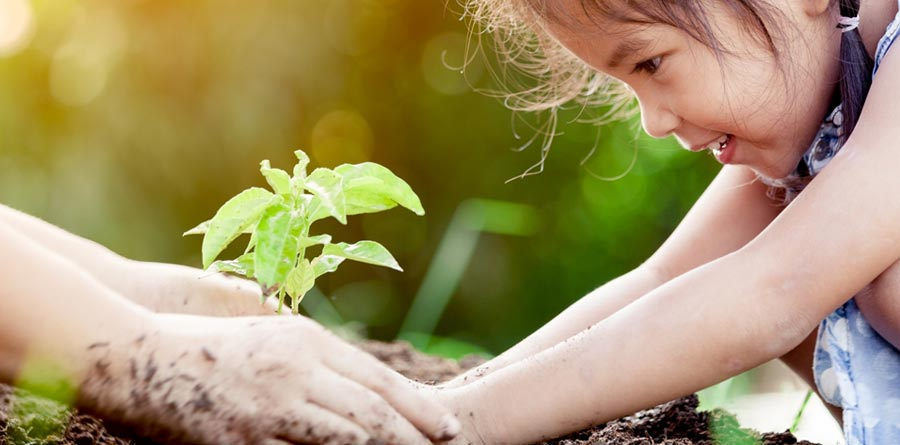 Sustainable-planting-girl