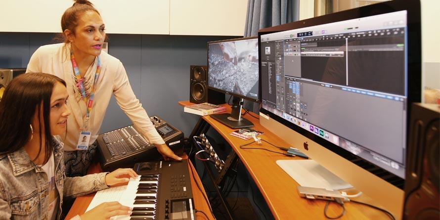 YA-studio-time teen AV studio