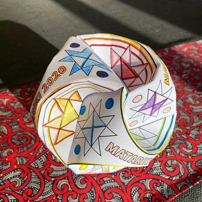 matariki-paper-globe