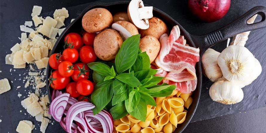 food-in-pan
